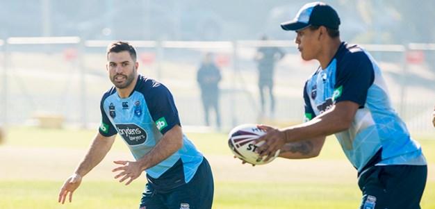 NSW Blues Training