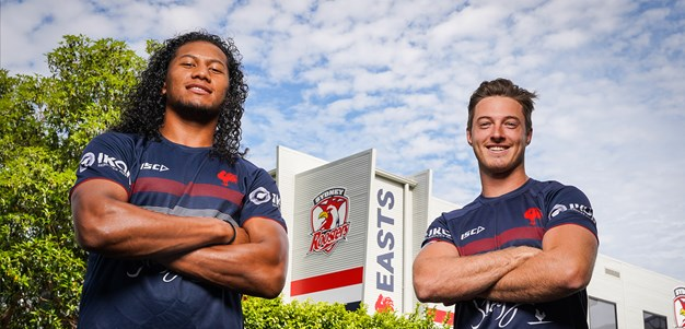 Verrills, Tupouniua re-sign with Roosters