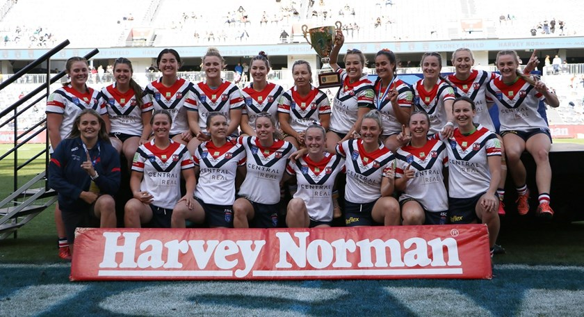 The Central Coast Roosters won the Harvey Norman Women's Premiership in 2020
