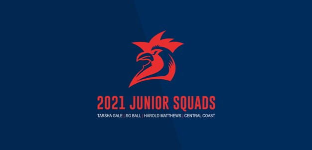 Roosters Juniors Selected for 2021 Squads