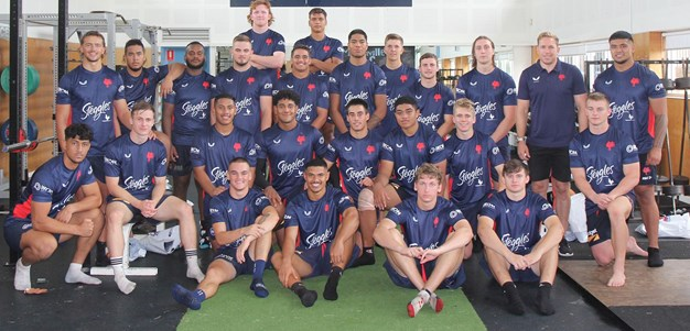 NRL Training Prepares SG Ball Trio