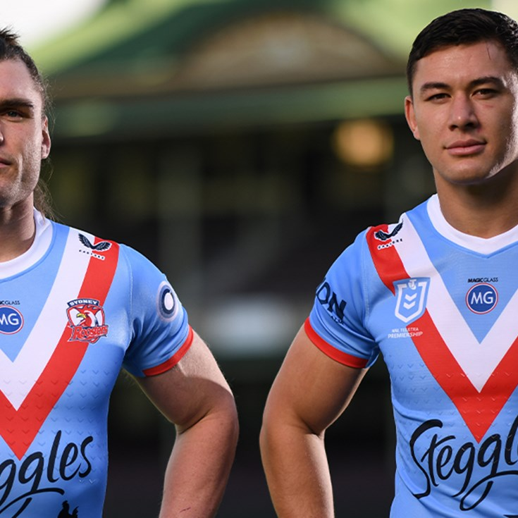 Roosters Duo Excited to Represent Anzacs and Club History