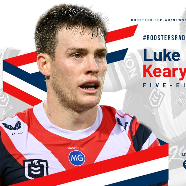 Roosters Radio Episode 96: Luke Keary