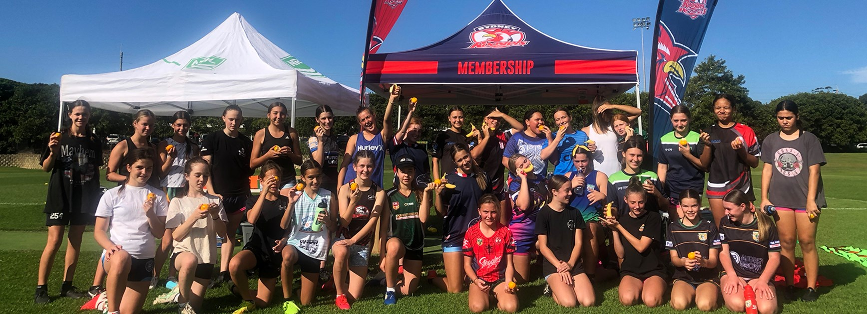 Future Roosters Thrilled with Holiday Camps