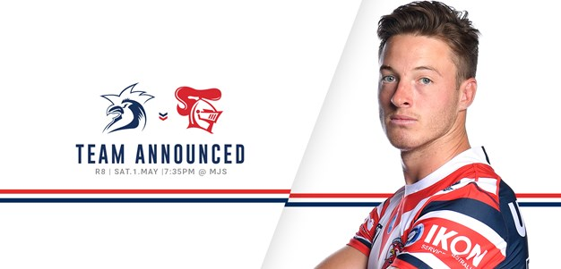 UPDATE: Line Up for Round 8 vs Knights Announced