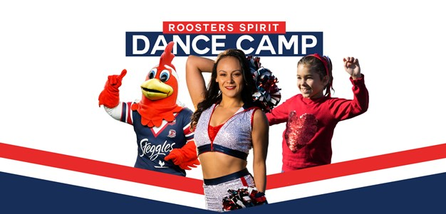 Sign up for the Roosters Spirit Dance Camp this July!