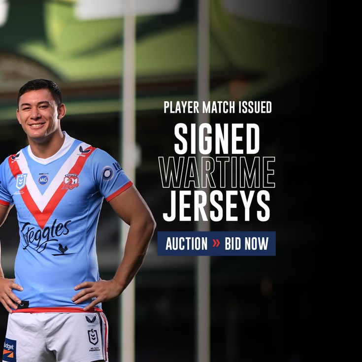 Own A Part of History With Your Very Own Signed Player Issue Jersey!