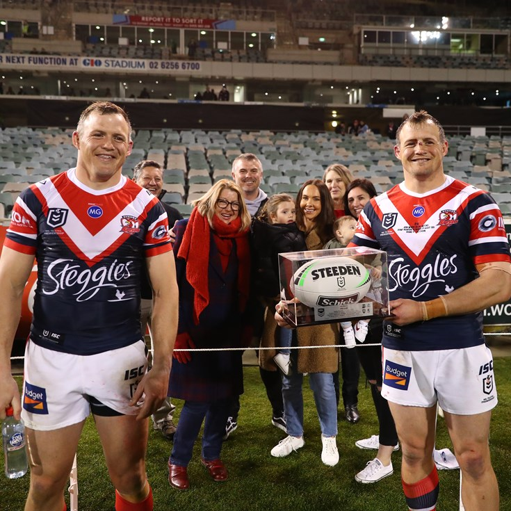 Morris Twins Rounding off Roosters Family Connection