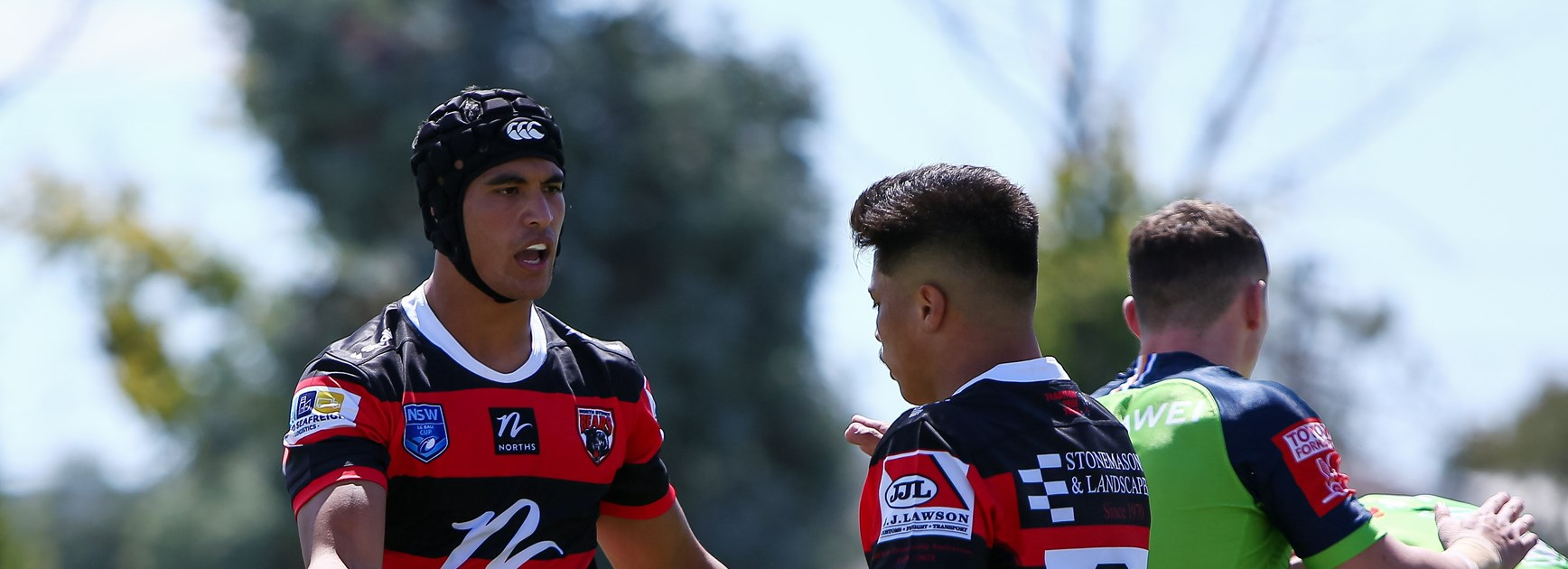 Young Roosters Shine in Bears Trial Win Against Raiders