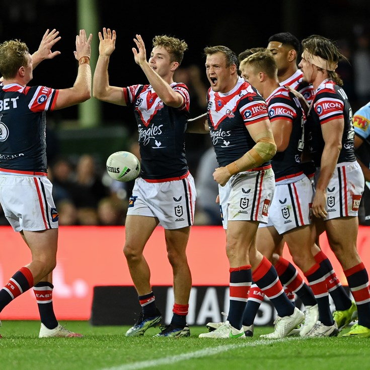 Roosters Complete Comeback against Sharks in Scrappy Contest