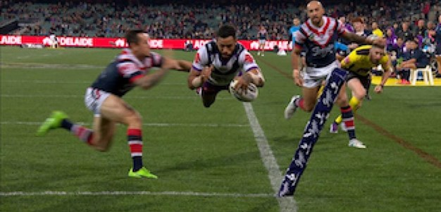 Highlights | Roosters v Storm 2017