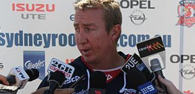 Trent Robinson PRESS CONFERENCE