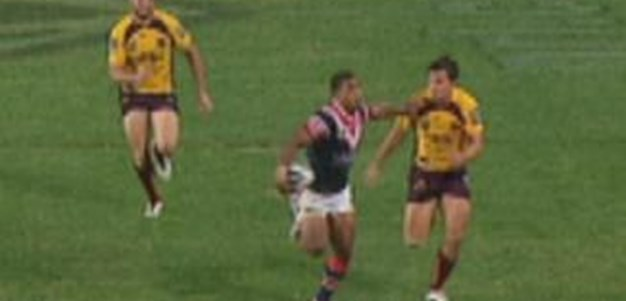 Highlights | Roosters v Broncos 2013