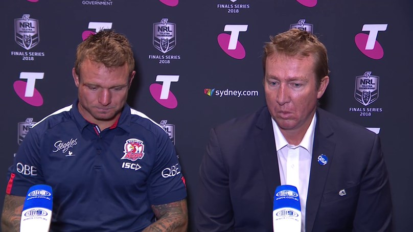 Roosters press conference – Finals Week 1