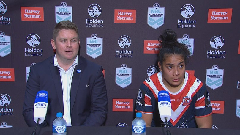Roosters press conference: NRLW Round 2, 2018