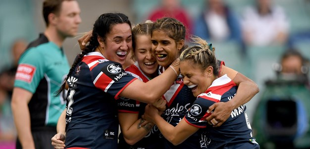 NRLW Highlights | Roosters v Dragons