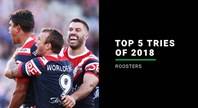 NRL.COM | Sydney Roosters Top 5 Tries