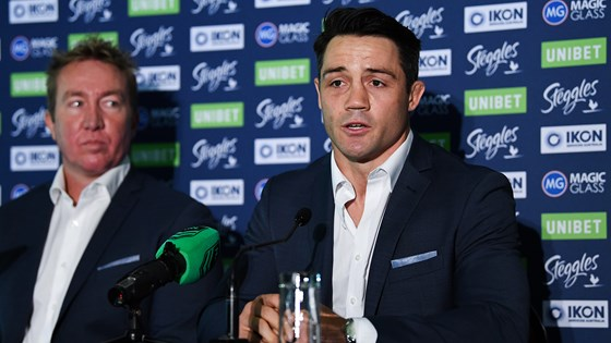 Cooper Cronk Retirement Press Conference