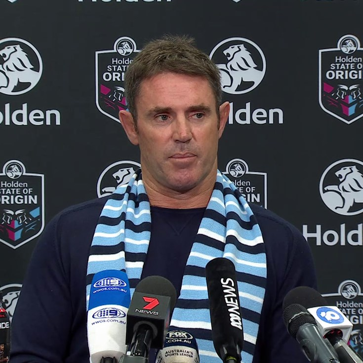 Blues Press Conference | Origin I