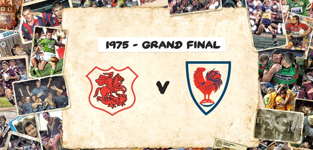 Retro Round | Dragons v Roosters Grand Final 1975