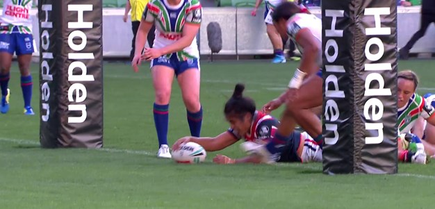 Taufa finishes with a double