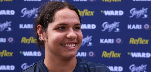 Allende takes the long road to NRLW debut