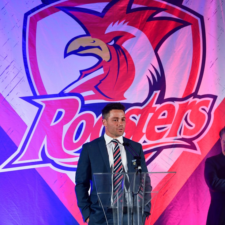 Cooper Cronk Speaks at Awards Night