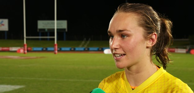 Dibb ready for Nines after green and gold debut