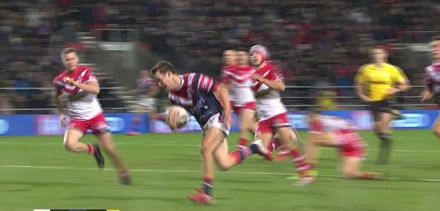 Keary finishes off long range Roosters try
