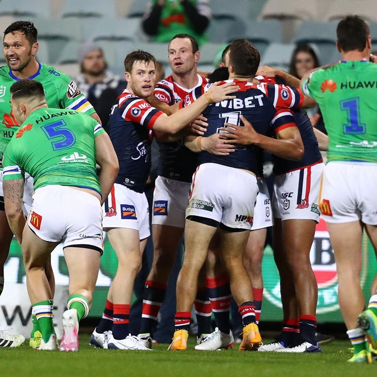Most Streamed Of 2020 | Raiders v Roosters