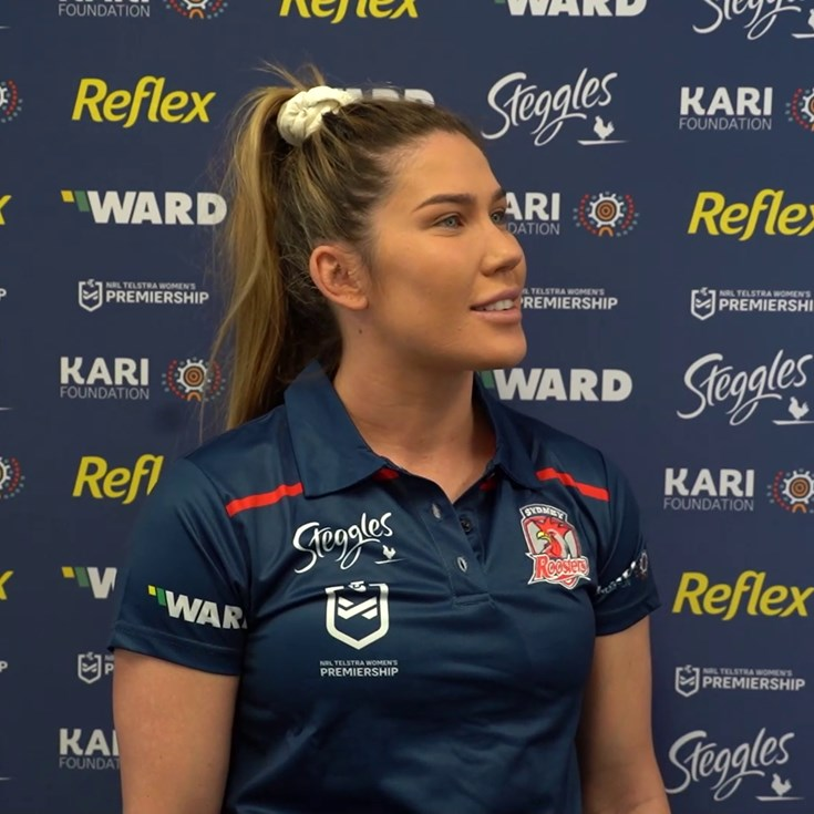 First RoostersTV with Charlotte Caslick | Week One