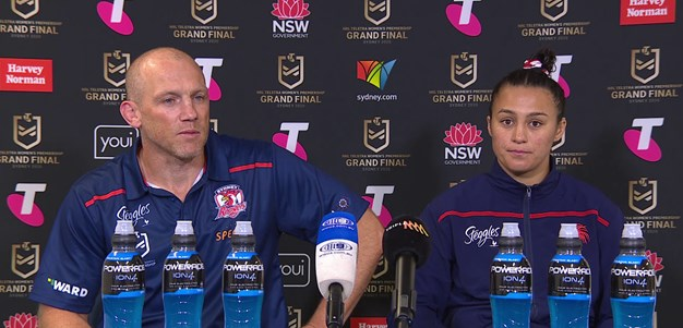NRLW Press Conference | Grand Final
