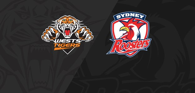 Round 2 Full Match Replay: Roosters v Wests Tigers