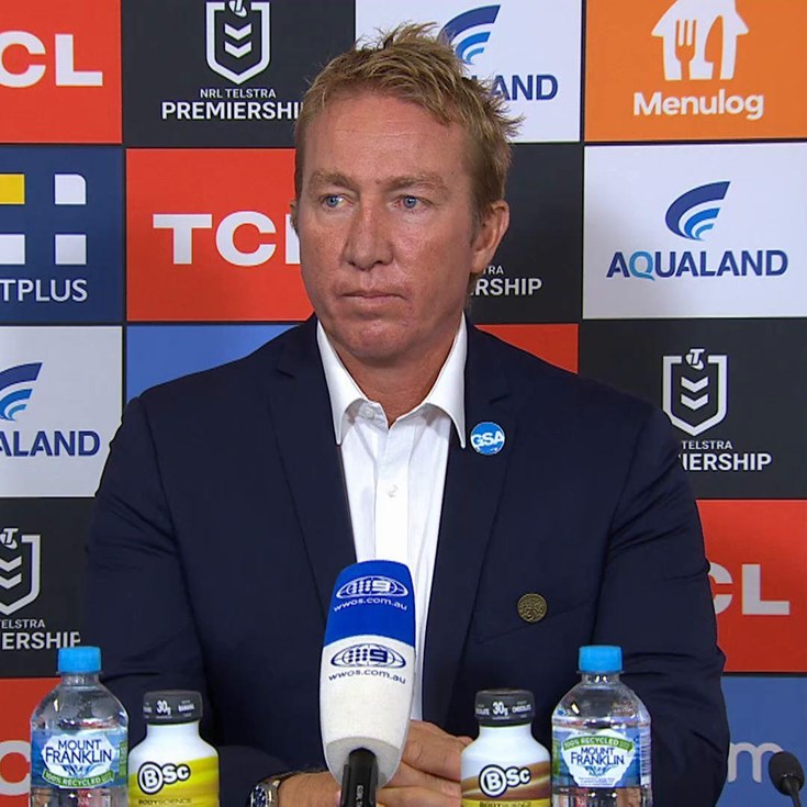 Trent Robinson Press Conference Round 3 vs Rabbitohs