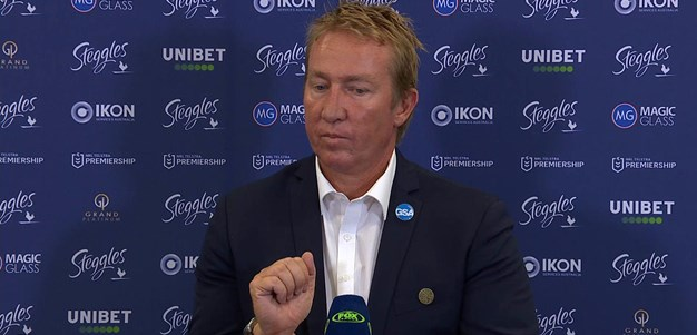 Trent Robinson Press Conference Round 4