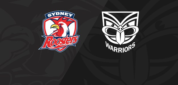 Round 4 Full Match Replay: Roosters v Warriors