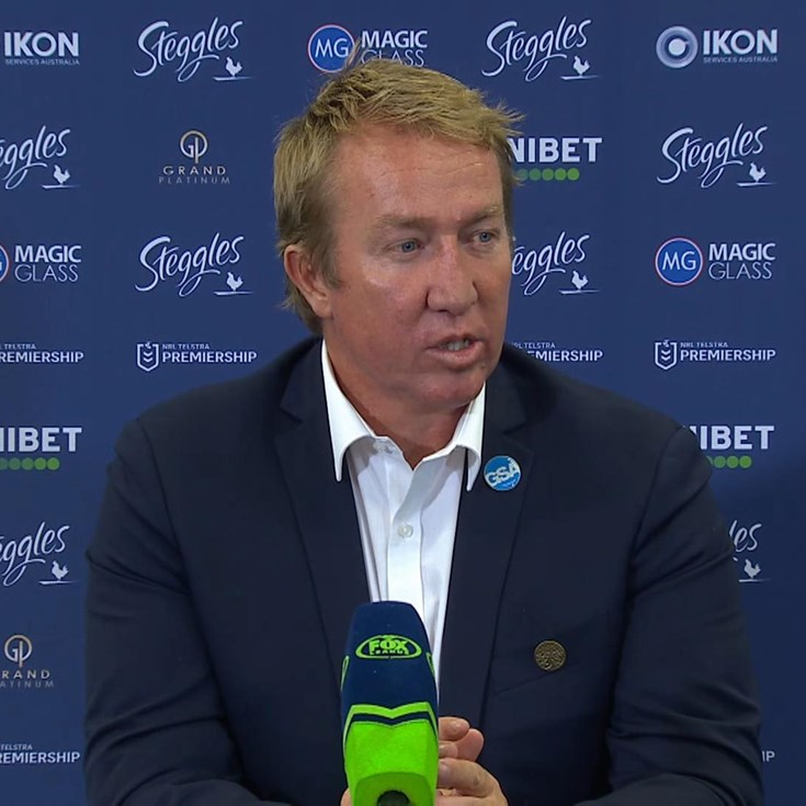 Trent Robinson Press Conference Round 5
