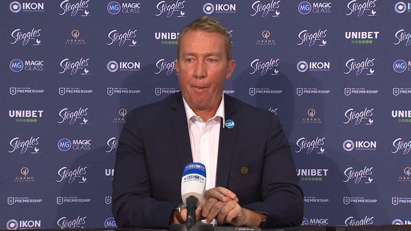 Trent Robinson Press Conference Round 6