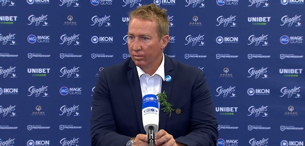 Trent Robinson Press Conference Round 7