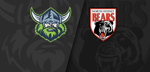 NSW Cup Trial: Bears vs Raiders Replay
