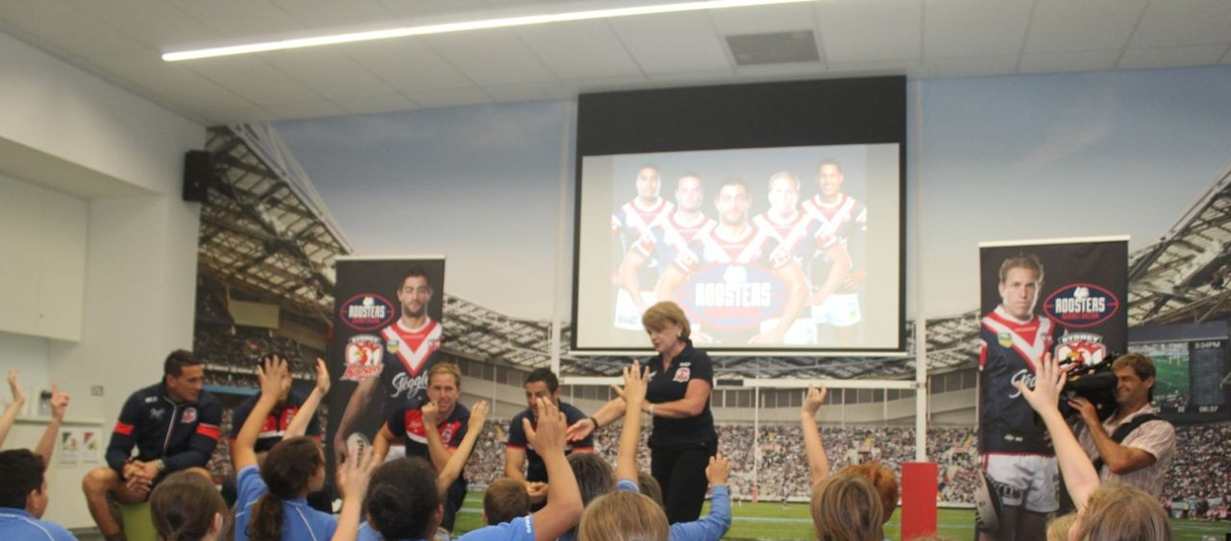 Roosters Against Racism Program Launched