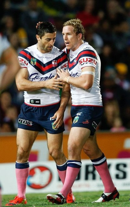 NRL Roosters v NQ Cowboys at Townsville. 17/05/2014. Photo: Michael Chambers for Melba Studios.