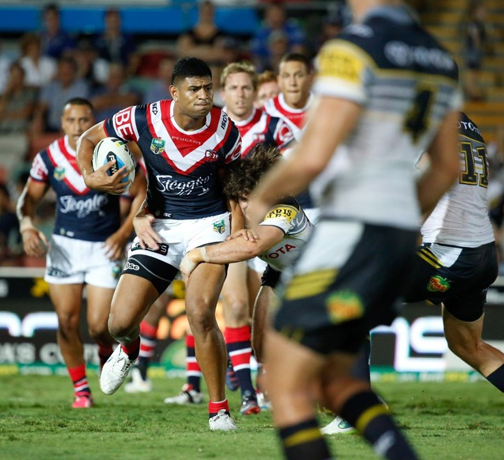 07 March 2015 Townsville, Queensland - North Queensland Cowboys v Sydney Roosters - Photo: Cameron Laird / Melba Studios