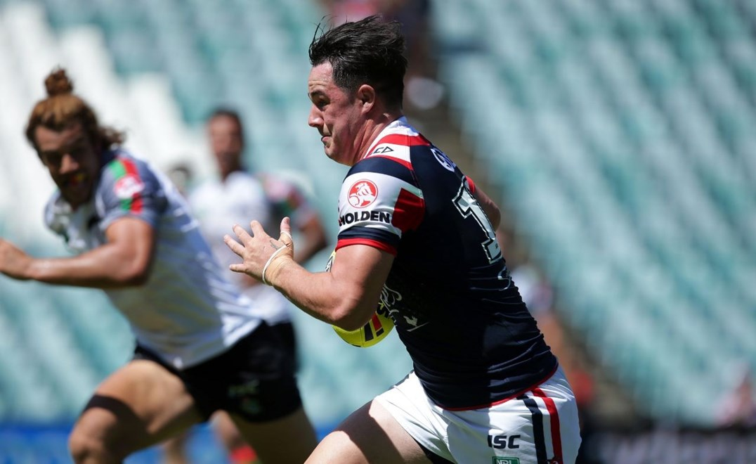 Competition - NYC NRL Premiership Round - Round 01 Teams - Sydney Roosters v South Sydney  Date - 6th of March 2016 Venue - Allianz Stadium, Sydney NSW Photographer - Chris Lane