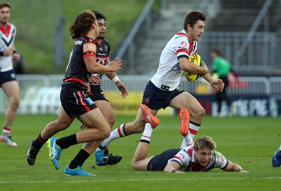 Competition - NYC Premiership Round - Round 15 Teams – NZ Warriors v Sydney Roosters Date – 19th of June 2016 Venue – Mt Smart Stadium, Auckland, NZ Photographer – Shane Wenzlick