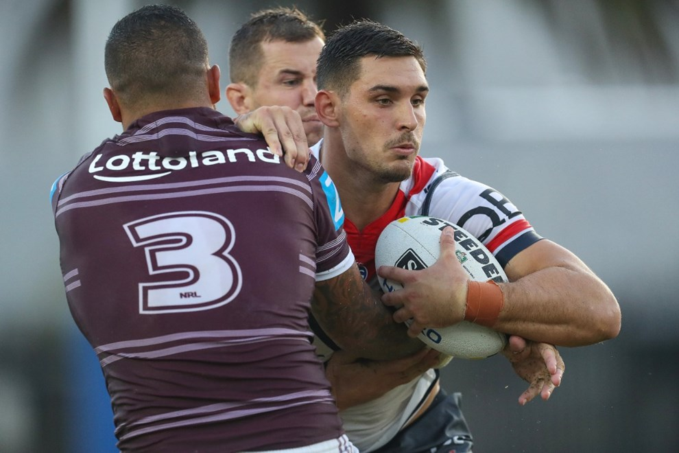 Competition - NRL Trial Round. Round - Trial. Teams - Manly Warringah Sea Eagles v Sydney Roosters. Date - 18th of February 2017. Venue - Central Coast Stadium