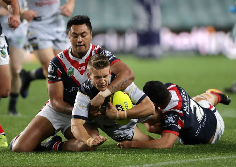 Round 21 Holden Cup game between the Sydney Roosters and the North Queensland Cowboys at Allianz Stadium,Moore Park . Picture: Gregg Porteous