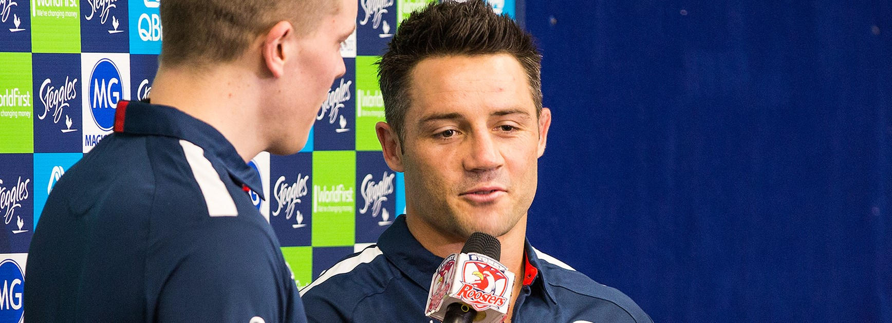 First Chat With Cooper Cronk