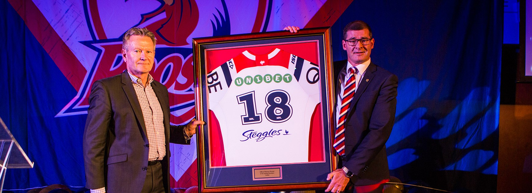 Roosters Announce Platinum Partnership With Unibet
