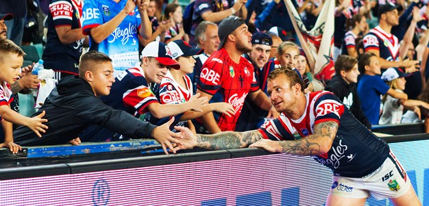 Roosters Fans Brave Weather In Round 3